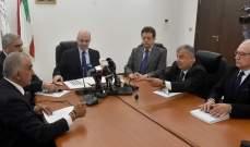 حاصباني يطالب مجلس الوزراء بإقرار آلية توزيع السقوف المالية على المستشفيات