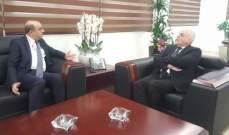 جبق استقبل السفير التركي ووفدا من عرسال للاطلاع على ملف بناء المستشفى