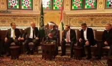 المفتي دريان استقبل وفدا من رؤساء بلديات محافظة البقاع