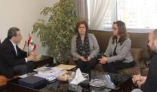 أبو فاعور استقبل سفير بلاروسيا ووفودا وبحث بآلية قوننة تصنيع السيارات في لبنان