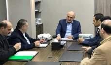 خليل التقى علامة ورئيس بلدية الغبيري ونقيب محامي طرابلس