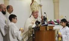 المطران مطر: زيارة البابا تسهم بالتقريب بين المسيحيين والمسلمين
