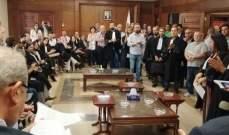 المراد تسلم لائحة مطالب محامين من طرابلس في ضوء إستمرار إعتكاف القضاة