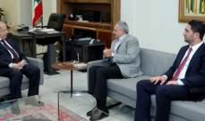 الرئيس عون التقى أرسلان والغريب في قصر بعبدا