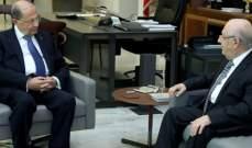 الرئيس عون بحث مع أبي نصر الاوضاع العامة في البلاد