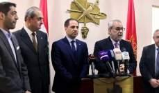 بقرادونيان التقى وفدا من الكتائب: الاراء متطابقة بضرورة تشكيل الحكومة