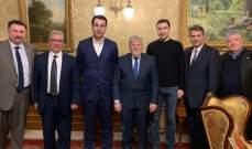 الابيض عرض في روسيا وضع الكنيسة الارثوذكسية تزامنا مع زيارة عون