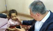 دبور تفقد مستشفى محمود الهمشري في مدينة صيدا