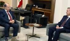 سلامة عرض مع الرئيس عون للأوضاع النقدية في البلاد: الوضع المالي مستقر