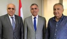 القصيفي بحث مع رئيس إتحاد الصحافيين السوريين قضية إختفاء سمير كسّاب