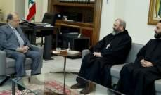 الرئيس عون استقبل الرئيس العام للرهبانية اللبنانية المارونية