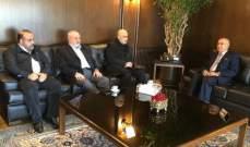 بسام حمود بحث مع مدير مخابرات الجيش بالجنوب التهديدات الاسرائيلية