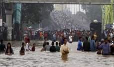 10 قتلى على الأقل وآلاف النازحين عقب فيضانات شديدة في إندونيسيا