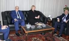 سرحان استقبل رئيسة المحكمة الدولية: الأحكام ستصدر قبل نهاية السنة