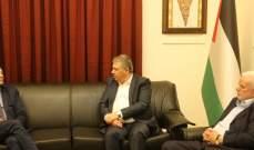 دبور استقبل مدير الاونروا ووفدا من القوى الاسلامية في عين الحلوة