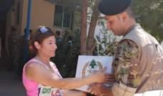 النشرة: الجيش اللبناني وزع  ٥٠٠ حصة غذائية على المواطنين البقاع