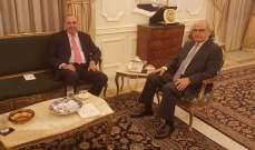 أنيس نصارقدم للمجلس الدستوري تصريحاً عن أمواله المنقولة وغيرالمنقولة