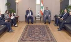 عثمان استقبل المدير التنفيذي للهيئة العليا للوساطة والتحكيم الدولي بلبنان