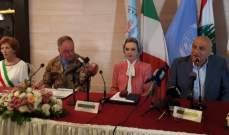 رندا بري: لتفعيل إتفاقية التوأمة بين صور وسانت انطيوكو ووعي أهمية الثقافة