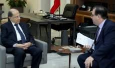 السفير الفرنسي يتحرك تحت عنوانين: الحث على سرعة التأليف والتنبيه لمخاطر الحدود