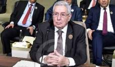 بن صالح يوجه خطابًا للجزائريين مساءً
