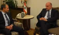 باسيل بحث مع وزير دفاع إستونيا أزمة النزوح السوري وموقف لبنان منها