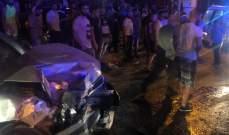 النشرة: سقوط 5 جرحى بحادث سير في الكرك