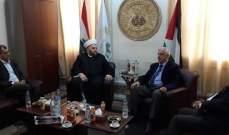 فارس سعد: ستبقى بيروت حاضنة  لكل القضايا العربية والوطنية