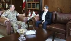 اللواء حاتم ملّاك بحث مع أبو فاعور الأوضاع العامة في البلاد