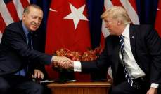 الرئاسة التركية: أردوغان ابلغ ترامب أن بلاده مستعدة لتولي الأمن بمنبج