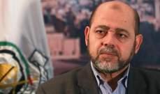 أبو مرزوق: لا تفريط بوحدة غزة والضفة ودعونا الروس لدفع المصالحة