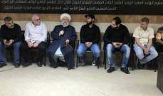 الشيخ حمود عرض الشؤون العامة مع بهية الحريري