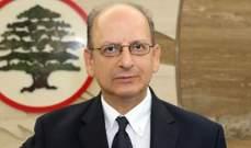 إيلي خوري: لبنان يشكل جزءا لا يتجزأ من الشرعيتين الدولية والعربية
