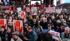 اندلاع تظاهرات بأميركا تطالب ترامب بعدم عرقلة التحقيق حول تدخل روسيا بالانتخابات