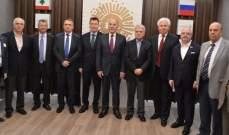 دبوسي: مؤمنون بتنمية العلاقات بين لبنان وروسيا انطلاقا من طرابلس