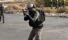 حالات اختناق جراء قمع الجيش الإسرائيلي للفلسطينيين في رام الله