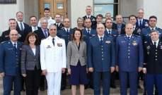 قائد الجيش شارك في اجتماع تقييم المساعدات الأميركية للجيش في البنتاغون