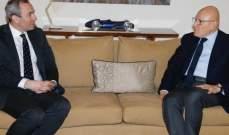 سلام بحث مع سفير بريطانيا للاوضاع والتطورات