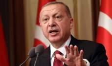 اردوغان: لا مشاكل لدينا مع أكراد سوريا ولا نطلب إذنا من أحد لمحاربة الإرهاب