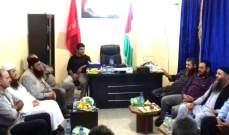الجبهة الديمقراطية وعصبة الأنصار الإسلامية بحثتا أوضاع مخيم عين الحلوة