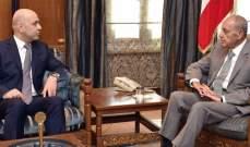 حاصباني التقى بري:سيكون هناك خطوات متعددة لبت قوانين متعلقة بالنظام الصحي العام