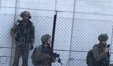 النشرة: دورية اسرائيلية مشطت المنطقة ما بين السياج التقني والجدار العازل مقابل كفركلا