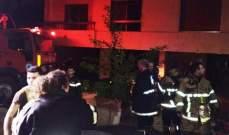 إخماد حريق داخل غرفة لحراقات أجهزة التدفئة بمبنى سكني في البياضة وإخلائه من القاطنين