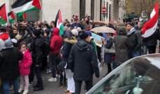 وقفة إحتجاجية أمام سفارة واشنطن في روما رفضا لقرار ترامب