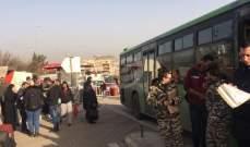 دفعة جديدة من النازحين السوريين انطلقت من طرابلس صباحا