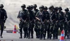 الدفاع المصرية: الجيش مستمر في التصدي لأية محاولة تستهدف الأمن القومي
