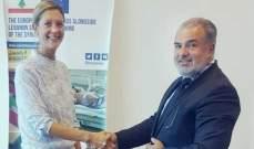 عميد الخارجية بالقومي بحث مع نائبة رئيس بعثة اتحاد اوروبا عودة النازحين