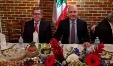 حاصباني: لبنان ليس بحاجة الى ديون اساسية اذا نجحنا في ادارة القطاعات وحوكمتها