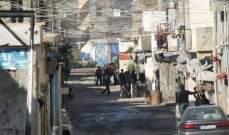 النشرة:عصبة الأنصار الإسلامية تنفذ انتشارا عسكريا بالشارع الفوقاني لعين الحلوة