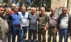 اللواء أبو عربيجول في البداوي مطلعا على الأوضاع فيه